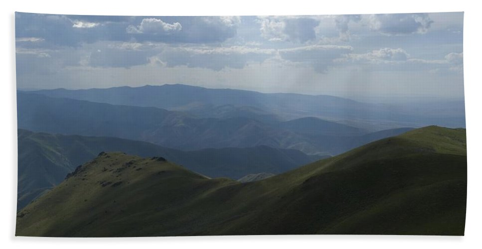 Mountain Beach Towel featuring the photograph Mountain Top 3 by Sara Stevenson