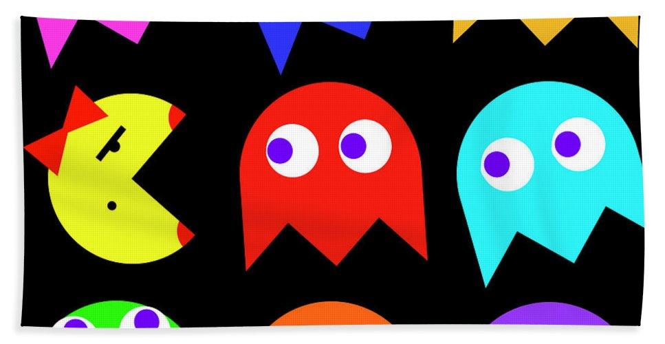 f3f9e90e898 Ms. Pacman Beach Towel for Sale by Daniel Hagerman