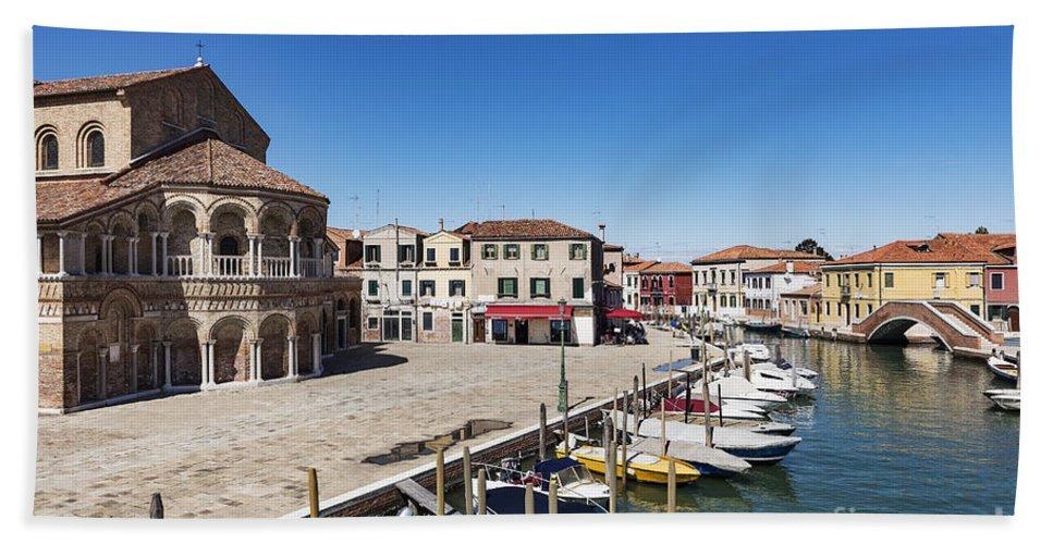Byzantine Beach Towel featuring the photograph Murano Italy by John Greim