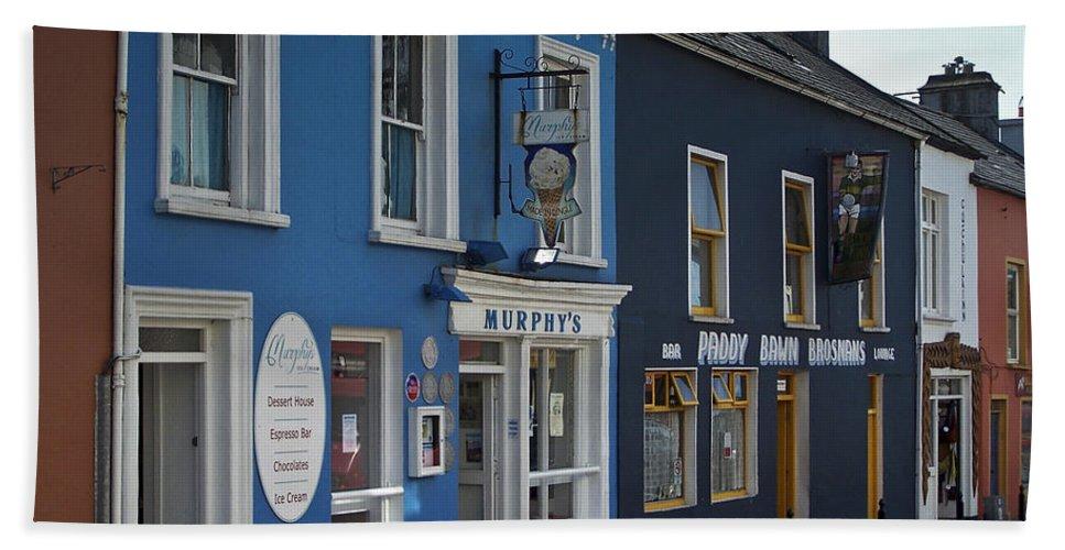 Irish Beach Sheet featuring the photograph Murphys Ice Cream Dingle Ireland by Teresa Mucha