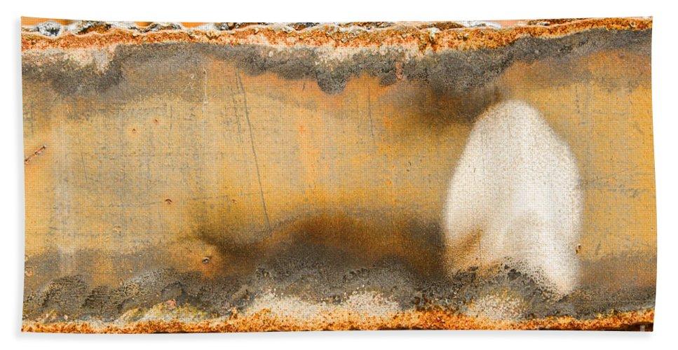 Grunge Beach Towel featuring the photograph Mushroom by Marilyn Cornwell