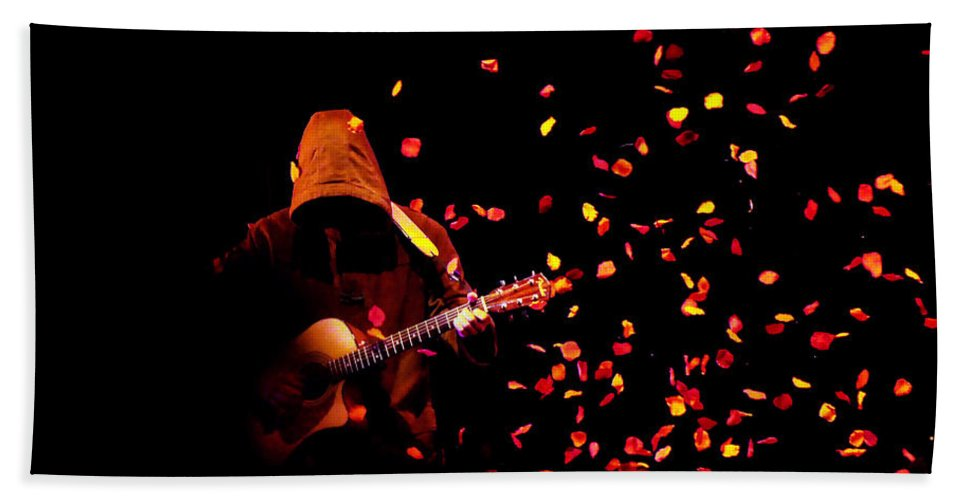 Clay Beach Towel featuring the photograph Musical Appirition by Clayton Bruster