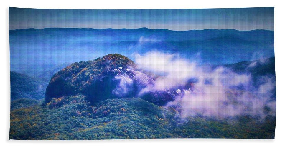Looking Glass Rock Beach Towel featuring the digital art Mystery Of Looking Glass Rock by John Haldane
