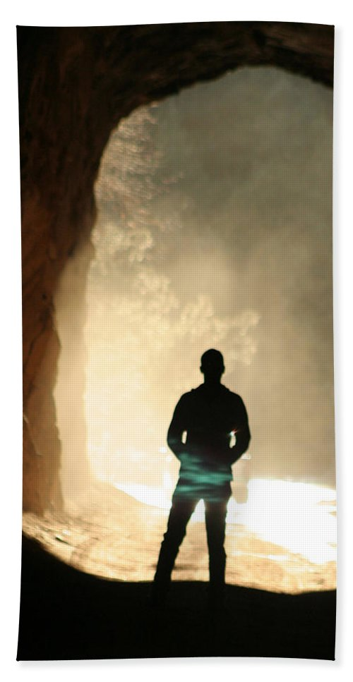 Mystery Beach Towel featuring the photograph Mystery by Ric Bascobert