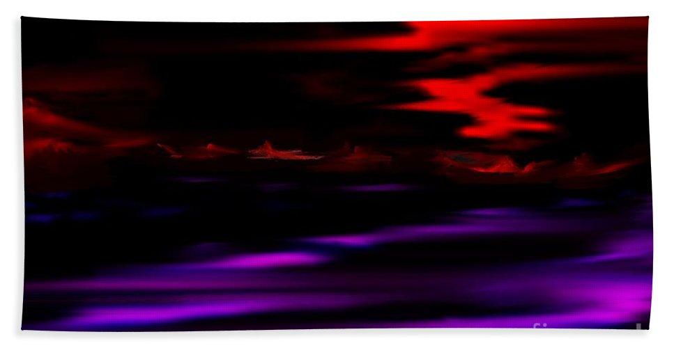 Fantasy Beach Towel featuring the digital art Mystery World by David Lane