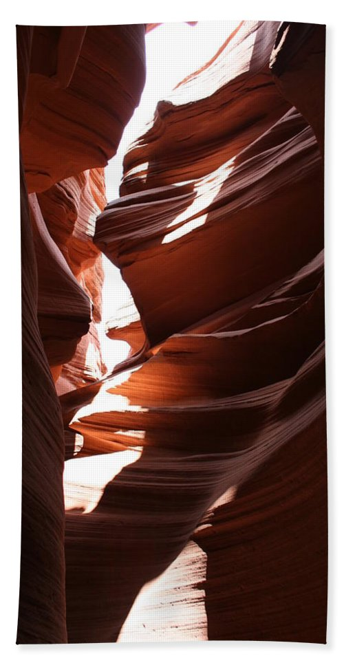 Canyon Beach Towel featuring the photograph Narrow Canyon Ix by Christiane Schulze Art And Photography