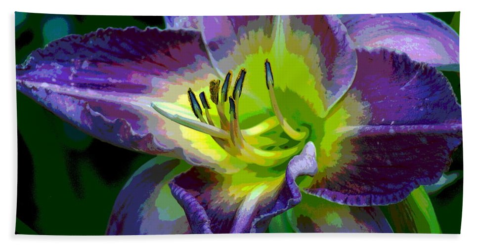 Photo Art Beach Towel featuring the photograph Natural Beauty by Ben Upham III