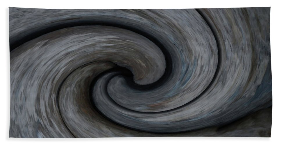 Yin Beach Towel featuring the photograph Nature's Illusions- Yin And Yang by Whispering Peaks Photography