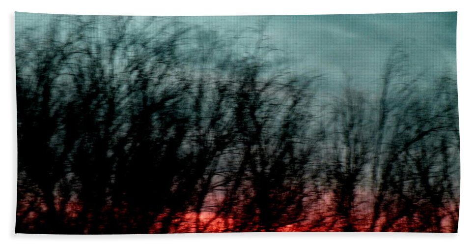 Landscape Beach Towel featuring the photograph Memory Over Matter by M Pace