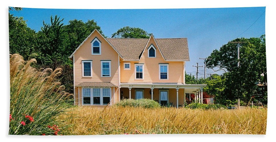 Landscape Beach Towel featuring the photograph New Jersey Landscape by Steve Karol