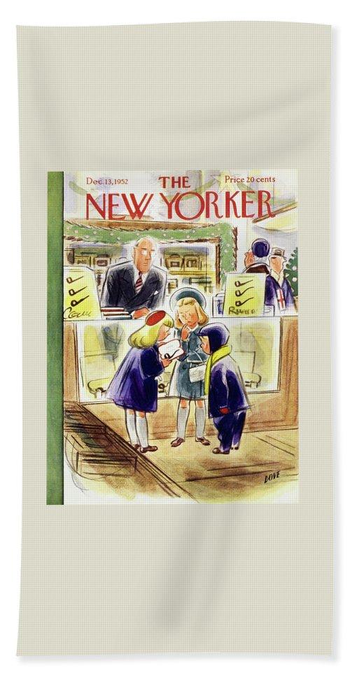 New Yorker December 13 1952 Beach Sheet