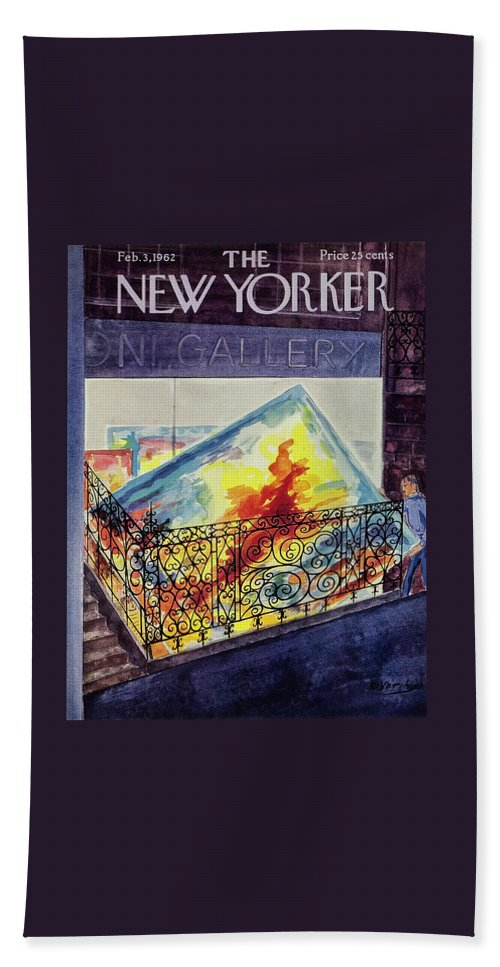 New Yorker February 3 1962 Beach Sheet