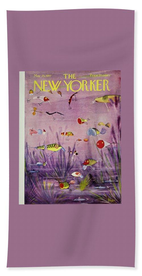 New Yorker May 25 1957 Beach Sheet