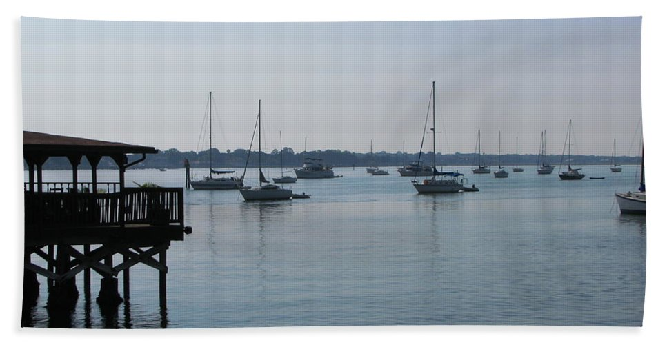Art For The Wall...patzer Photography Beach Sheet featuring the photograph No Wind by Greg Patzer