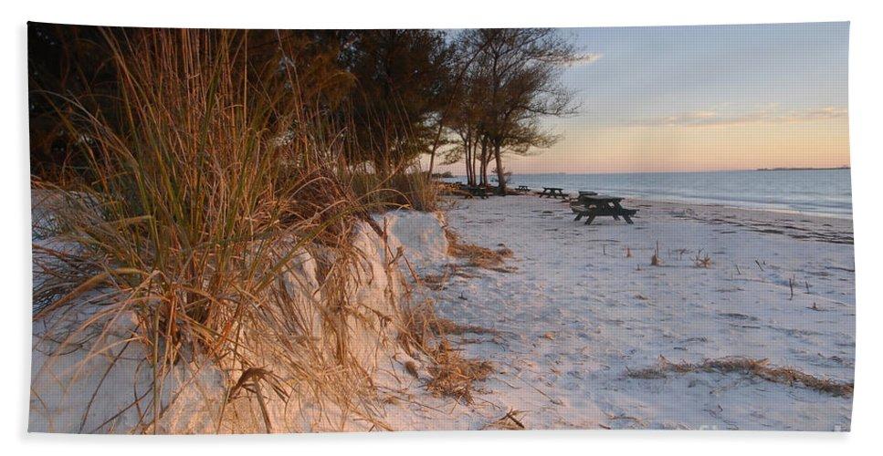 North Beach Beach Sheet featuring the photograph North Beach by David Lee Thompson