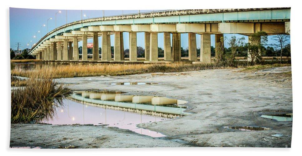 North Beach Towel featuring the photograph North Bridge Park 2012 by Yvette Wilson