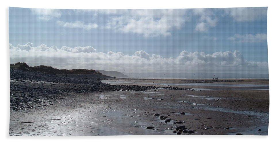 Beach Beach Towel featuring the photograph Northam Burrows Beach by Richard Brookes