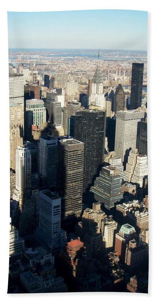 Nyc Beach Towel featuring the photograph Nyc 3 by Anita Burgermeister