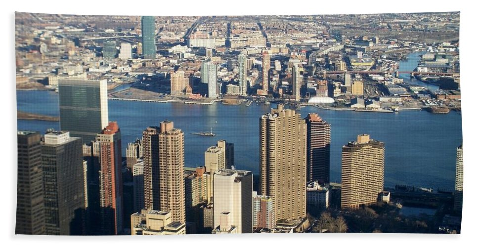 Nyc Beach Towel featuring the photograph Nyc 6 by Anita Burgermeister