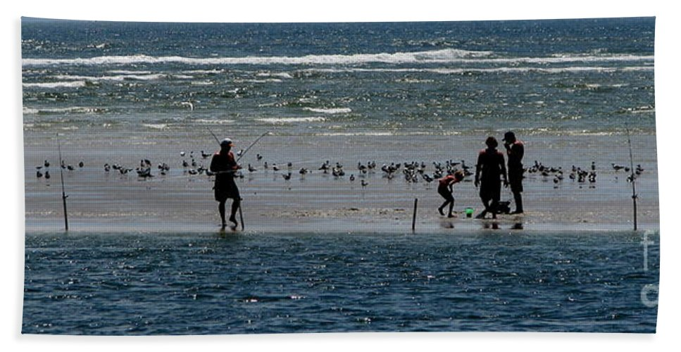 Atlantic Ocean Beach Towel featuring the photograph Ocean Way by Greg Patzer