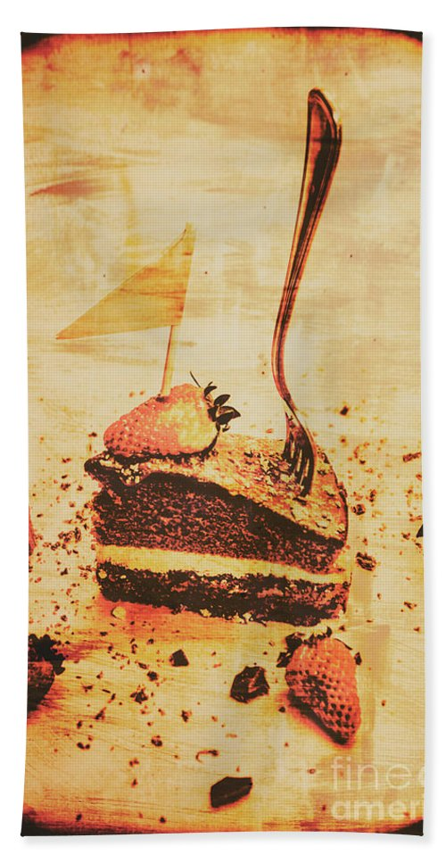 Vintage Beach Towel featuring the photograph Old Cake Break by Jorgo Photography - Wall Art Gallery