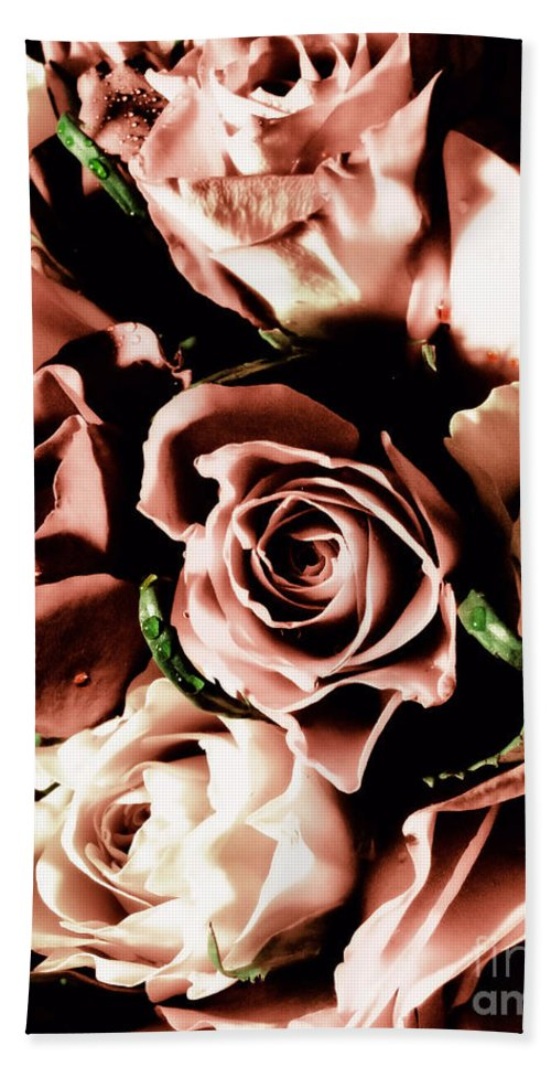 Floral Beach Towel featuring the photograph Old Kind Of Love by September Stone