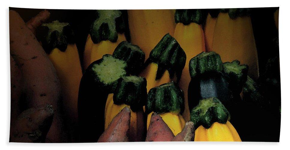 Sweet Potatoe Beach Towel featuring the photograph On Guard by Ian MacDonald