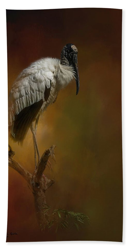 Birds Beach Towel featuring the photograph On The Fork by Marvin Spates