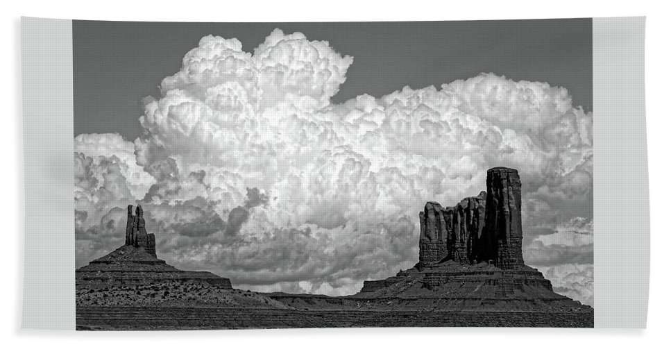 Landscape Beach Towel featuring the photograph One Sky Above Us by Hanna Tor