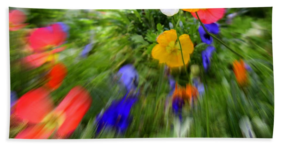 Flower Beach Towel featuring the photograph One Beautiful White Flower by Fiona Kennard