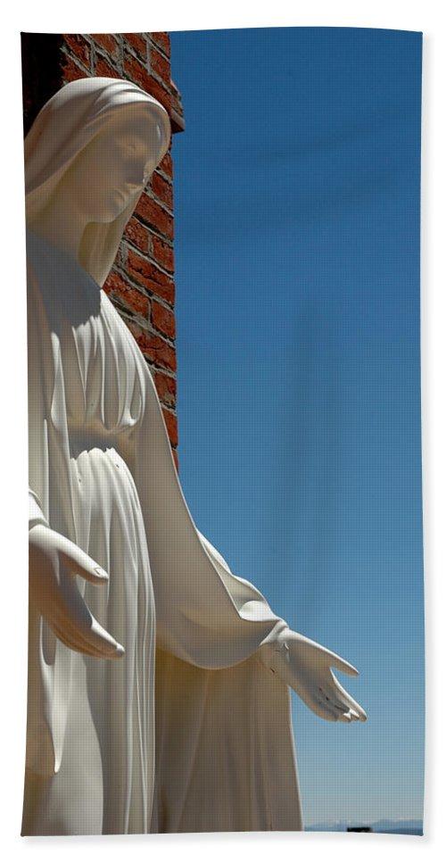 Usa Beach Towel featuring the photograph Our Lady Of Grace by LeeAnn McLaneGoetz McLaneGoetzStudioLLCcom