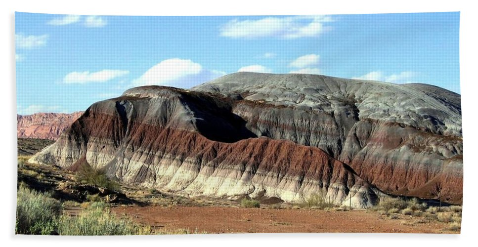 Arizona Beach Towel featuring the photograph Painted Desert by Will Borden