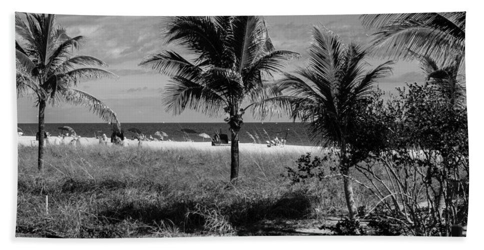 Beach Towel featuring the photograph Palm Beach Road Trip by Susan Molnar