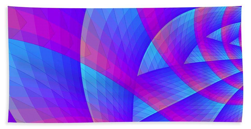 Fractal Beach Towel featuring the digital art Parabolic by Jutta Maria Pusl