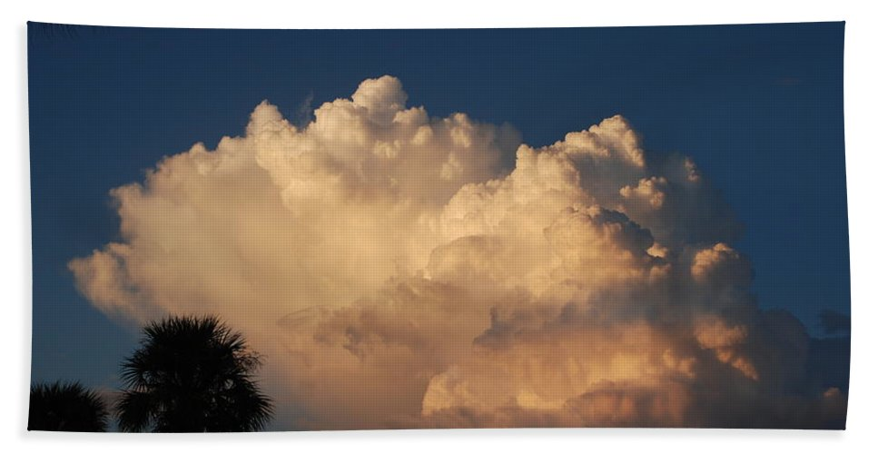 Clouds Beach Towel featuring the photograph Paradise by Rob Hans