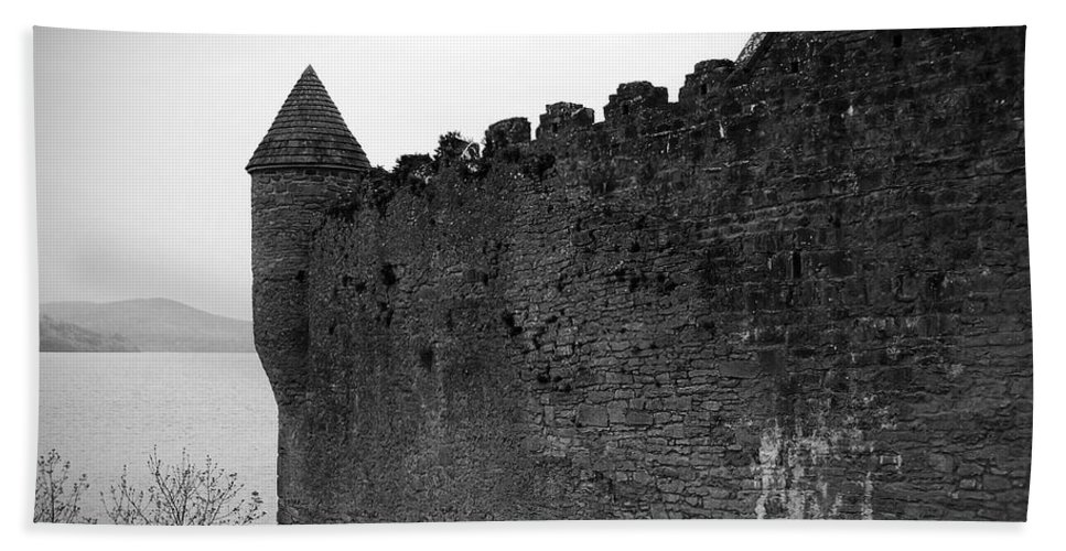 Ireland Beach Sheet featuring the photograph Parkes Castle County Leitrim Ireland by Teresa Mucha