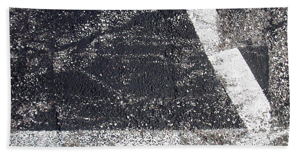 Parking Lot Beach Towel featuring the photograph Parking Lot 2 by Anita Burgermeister
