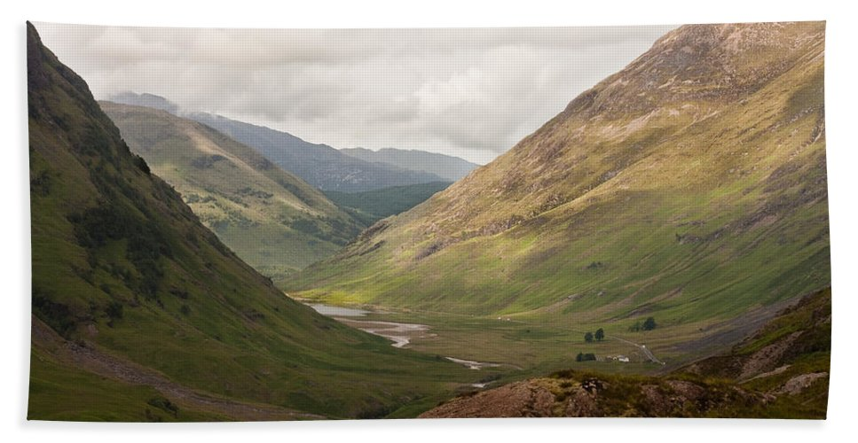 Scotland Beach Towel featuring the photograph Pass Of Glencoe II by Colette Panaioti