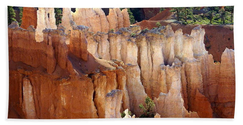 Bryce Canyon National Park Beach Towel featuring the photograph Pastel Bryce by Marty Koch