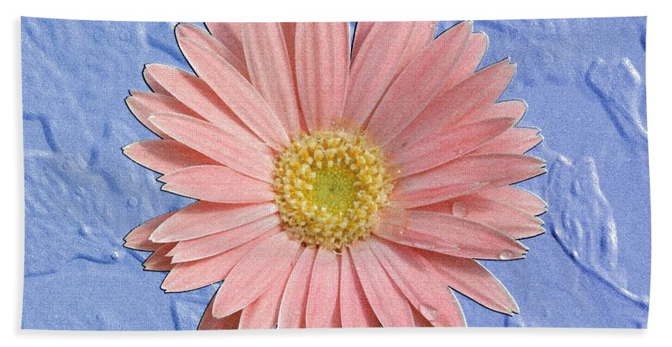 Gerber Beach Towel featuring the photograph Pastel Dream by Betty Northcutt