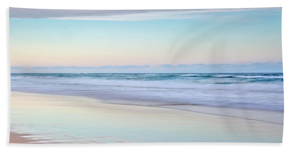 Australia Beach Towel featuring the photograph Pastel Reflections by Az Jackson