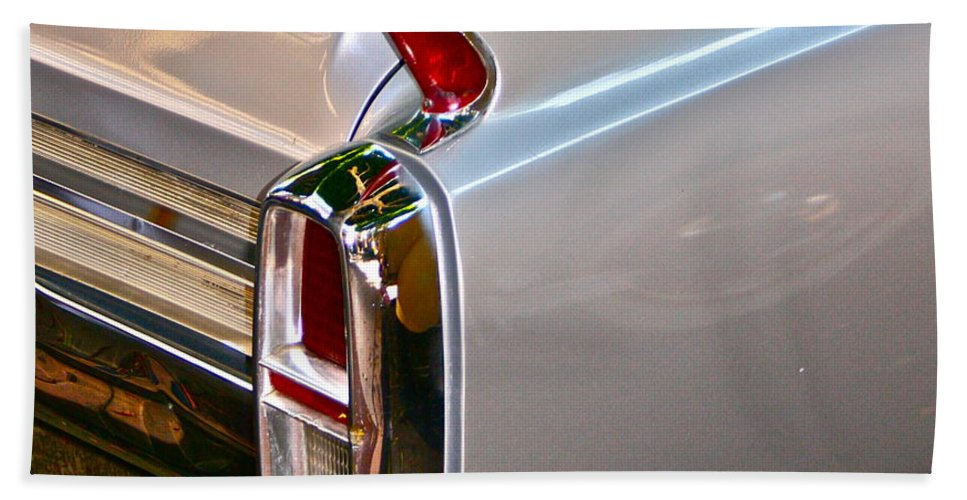 Classic Car Photographs Beach Towel featuring the photograph Pearl by Gwyn Newcombe