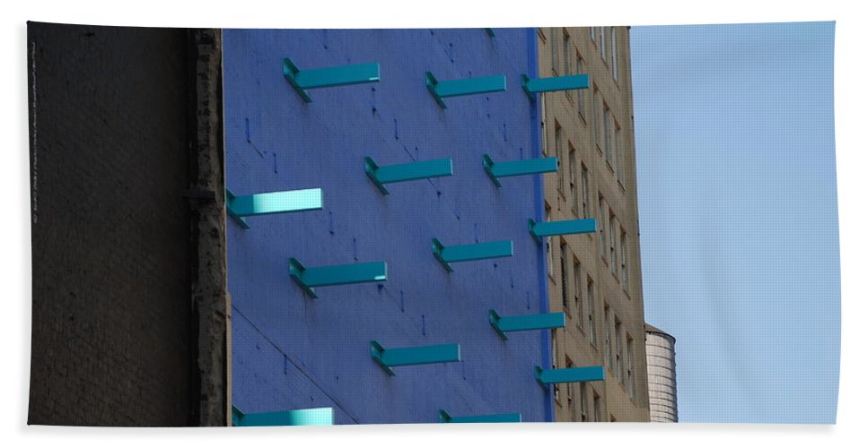 Architecture Beach Towel featuring the photograph Peg Board by Rob Hans