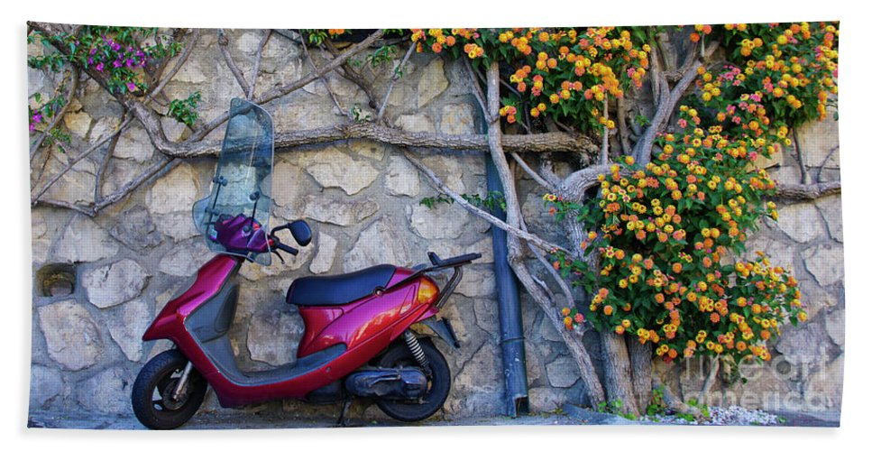 Positano Beach Towel featuring the photograph Perfectly Positano by Brian Kamprath