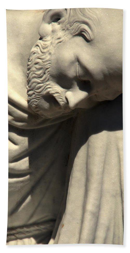 Saint Peter Beach Towel featuring the photograph Petrus Or Saint Peter by Susanne Van Hulst
