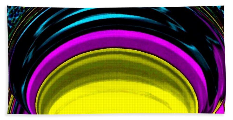 Light Beach Sheet featuring the digital art Pillar Of Light by Will Borden