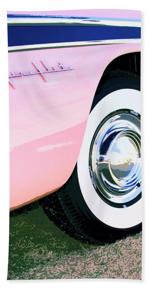 Desoto Beach Towel featuring the photograph Pink Desoto Fireflite by William Dey