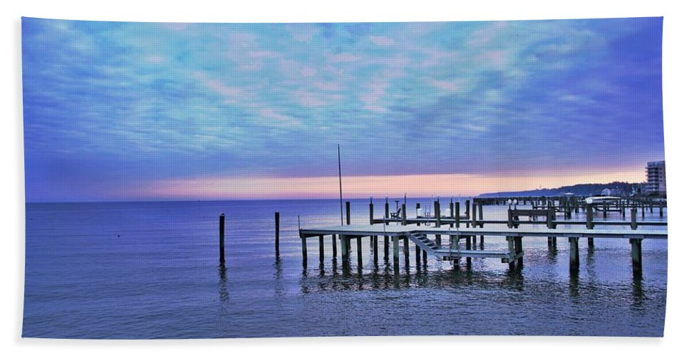 Pink Beach Towel featuring the photograph Pink Sunset by Christie Wilson