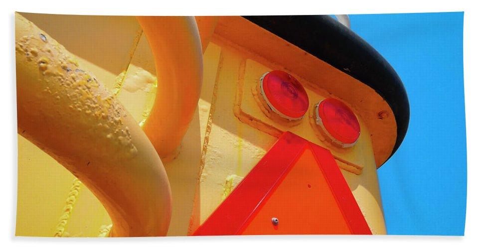 Pleasure Beast Beach Towel featuring the photograph Pleasure Beast by Skip Hunt