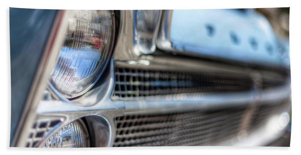 Car Beach Towel featuring the photograph Plymouth Fury by Jerry Renville